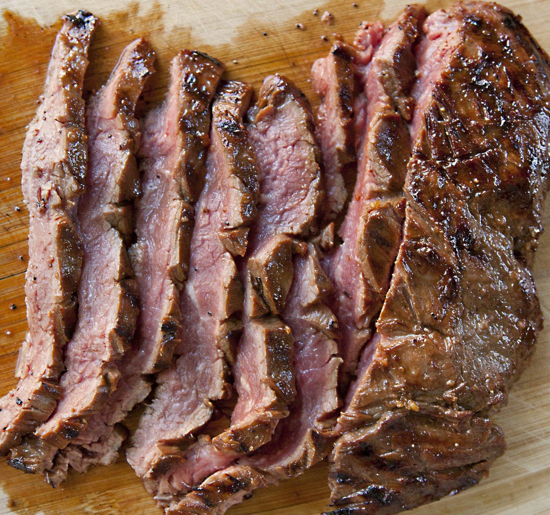 UrbanCookery - Marinated Grilled Flank Steak