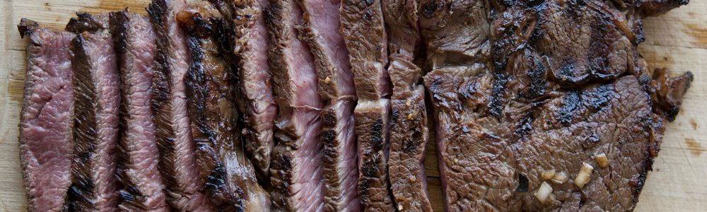 Grilled Korean Sirloin Steak