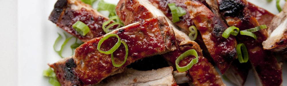 BBQ Asian Glazed Spare Ribs