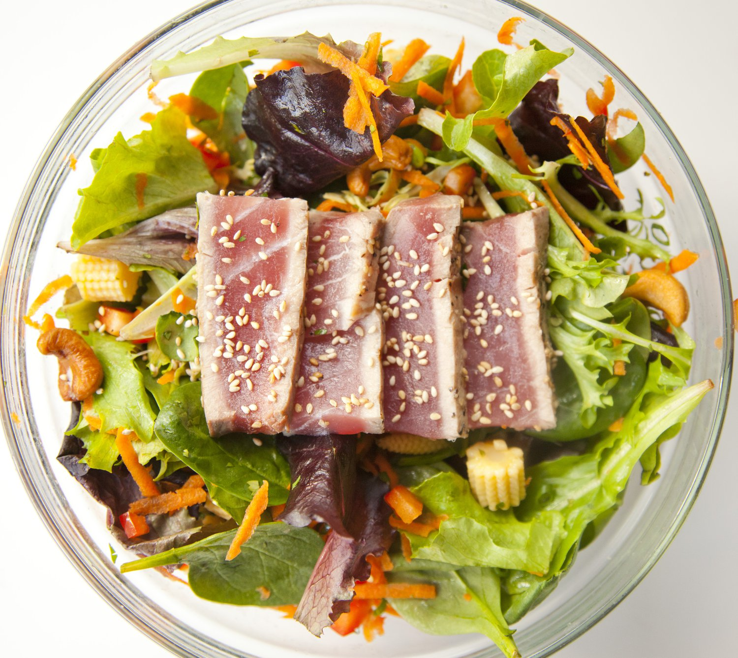 UrbanCookery - Asian Ahi Tuna Salad