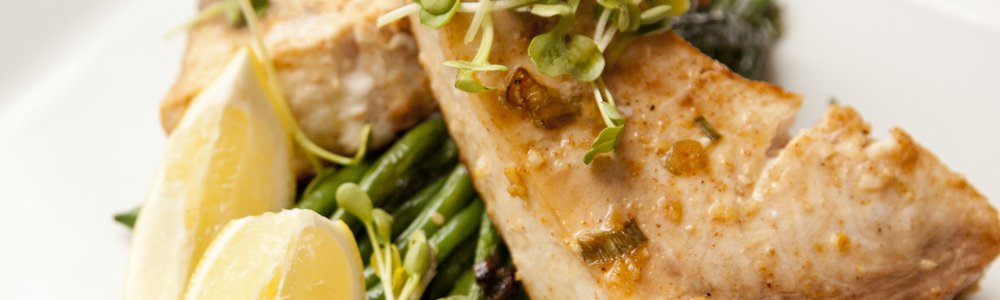 Ginger Garlic Swordfish