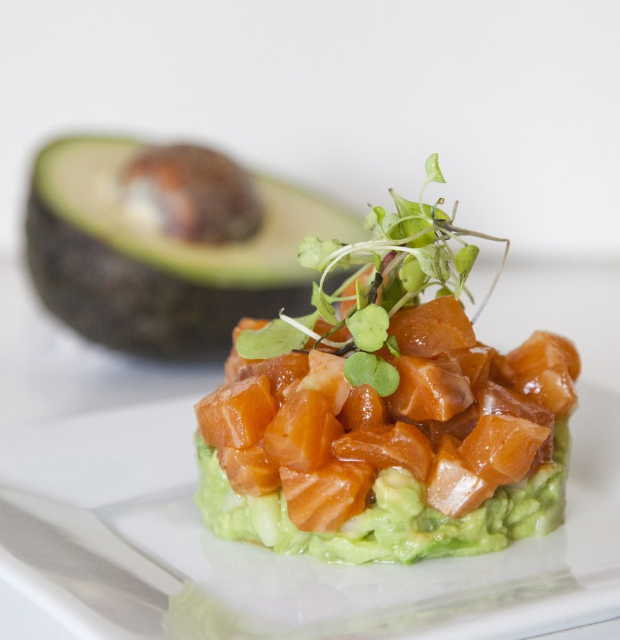 Urbancookery salmon ceviche with avocado avocadosraw fish with avocadosyou get the picture so i came up with this awesome salmon ceviche recipe which is a total umami dish the salmon ccuart Gallery