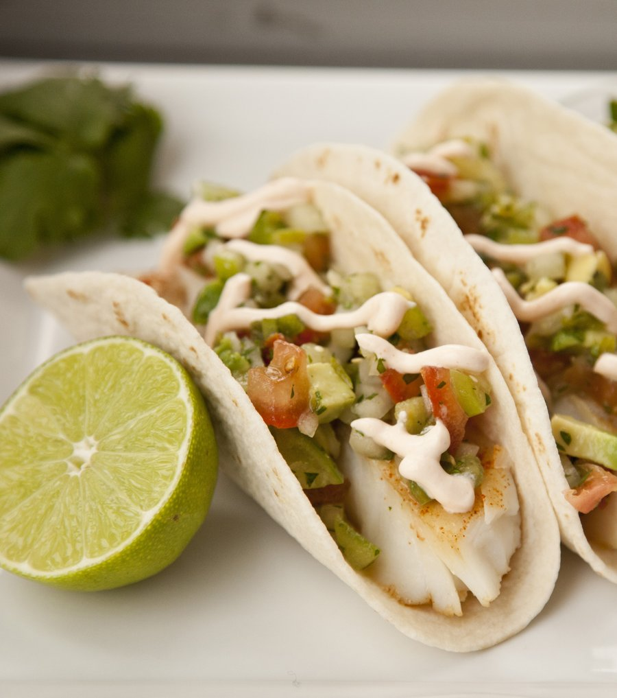 Urbancookery cod fish tacos for How to cook cod for fish tacos