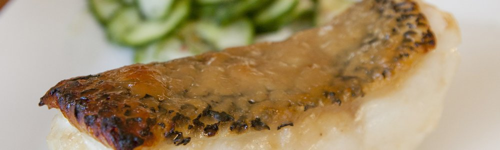 Miso Glazed Chilean Sea Bass