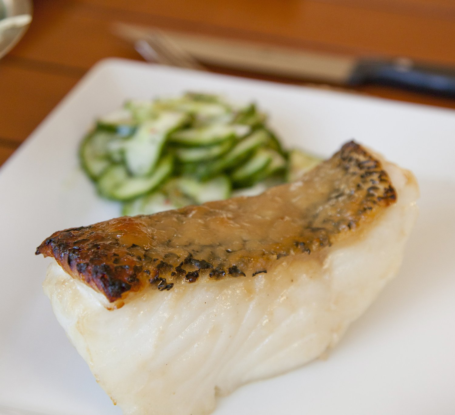 Asian style chilean sea bass