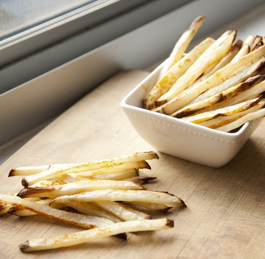UrbanCookery - Baked Matchstick French Fries