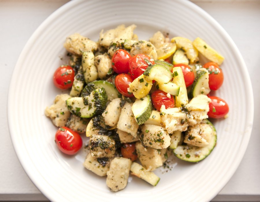 UrbanCookery - Gnocchi with Summer Vegetables