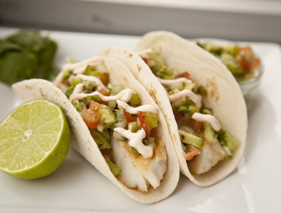 Urbancookery cod fish tacos for Good fish for fish tacos