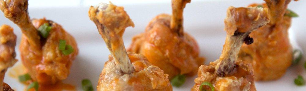 Buffalo Chicken Lollipops
