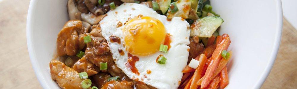 Spicy Chicken Bibimbap