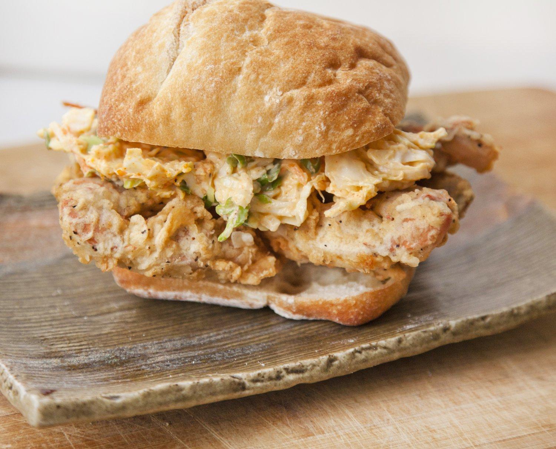 UrbanCookery - Soft Shell Crab Sandwiches