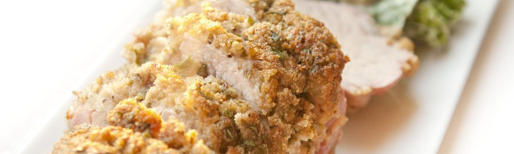 Herb & Dijon Crusted Pork Tenderloin