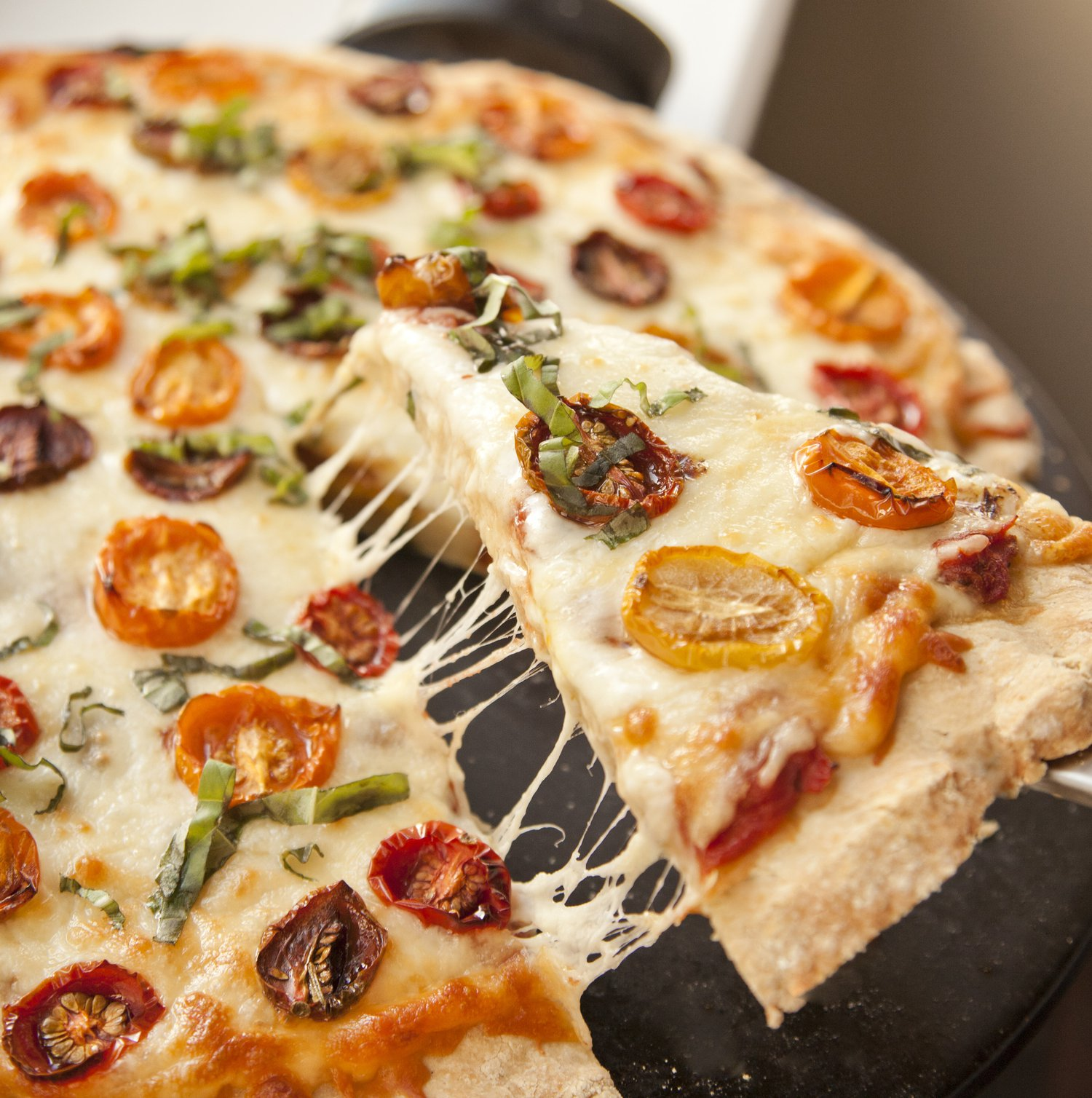 Oven-Dried Heirloom Tomato Pizza Recipes — Dishmaps