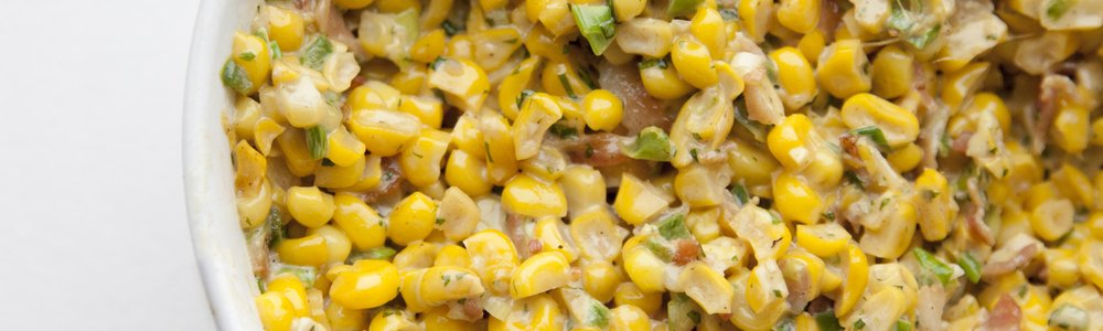 Mexican Sweet Corn Dip with Homemade Chips