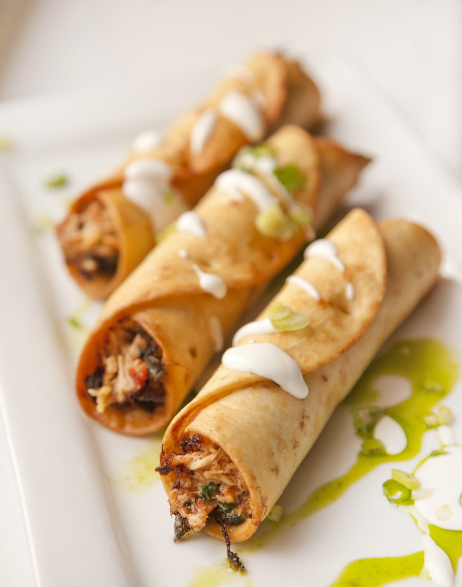 Image Gallery mexican flautas