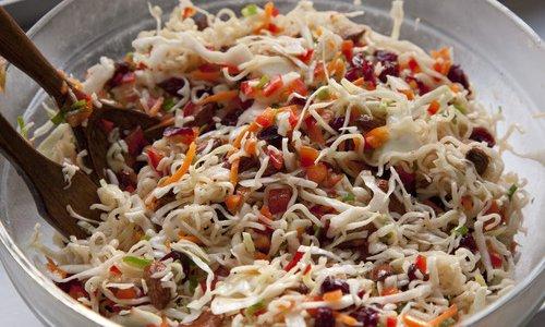 Asian Broccoli Slaw Salad