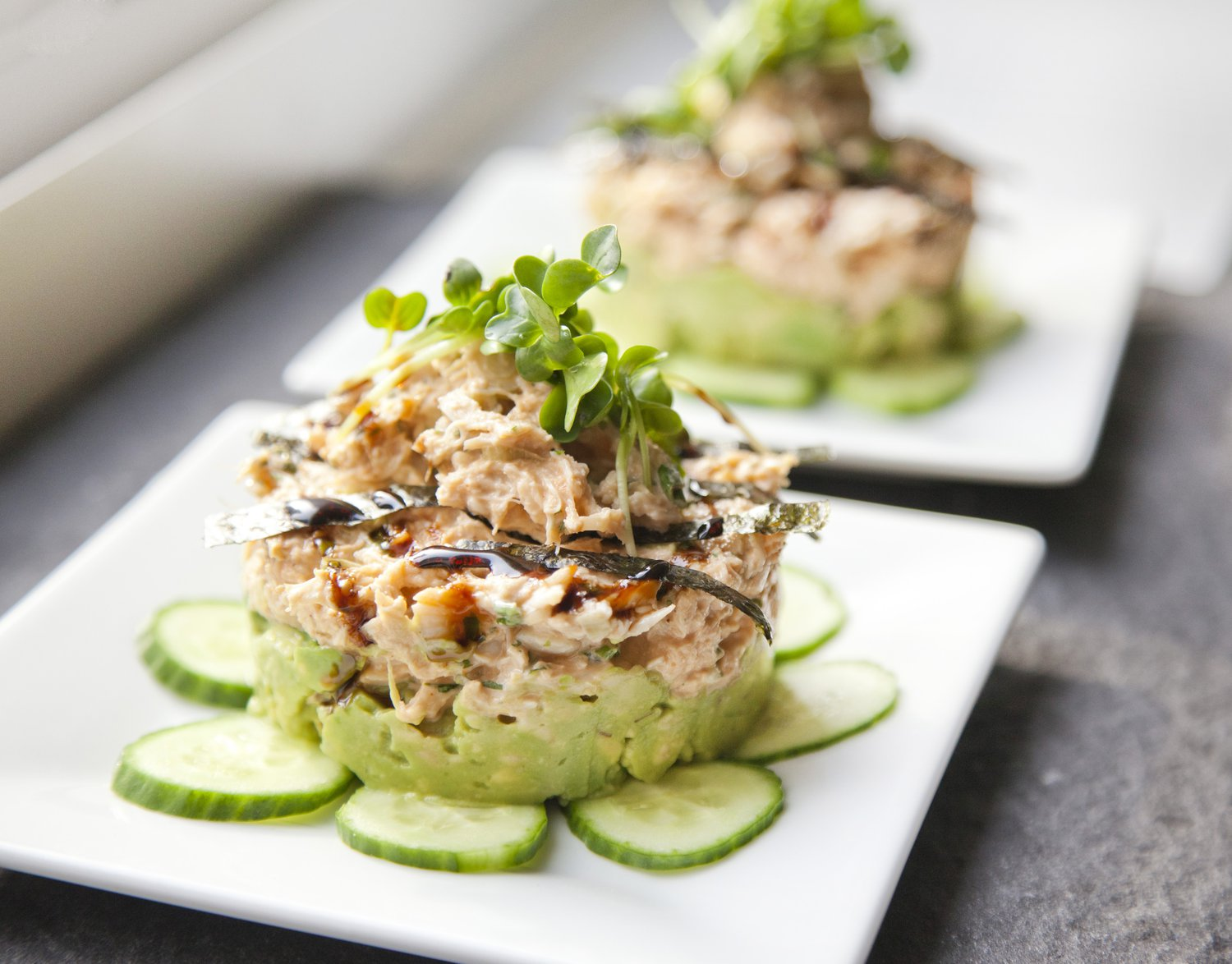 Pics Photos - Avocado And Crab Salad