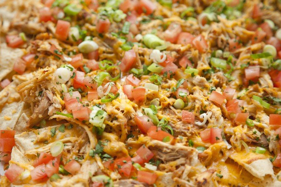 UrbanCookery - Shredded Chicken Nachos