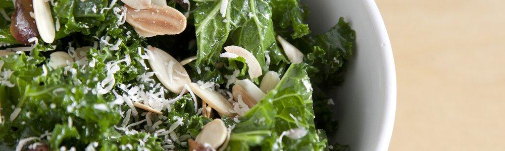 Kale, Almond & Date Salad