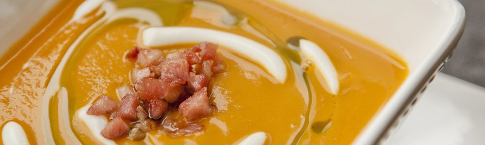 Butternut Squash Soup with Pancetta