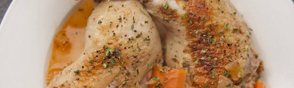 Braised Chicken Thighs with Carrots