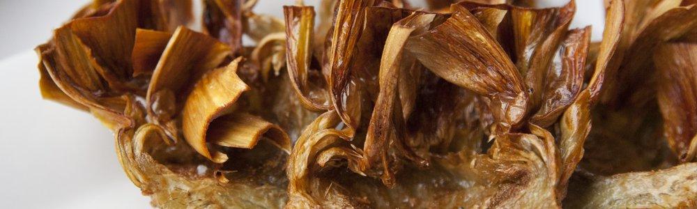 Fried Artichokes (Carciofi alla Giuida)